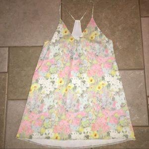 Beautiful Alice + Olivia pastel slip dress